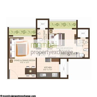 JP North I 1BHK Wing B