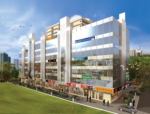 Office on rent in Samarth Arcade, Goregaon West