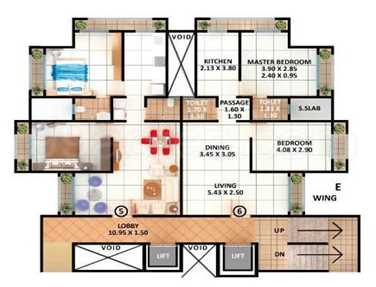 5847 Oth Floor Plan - Samarth Arcade, Goregaon West