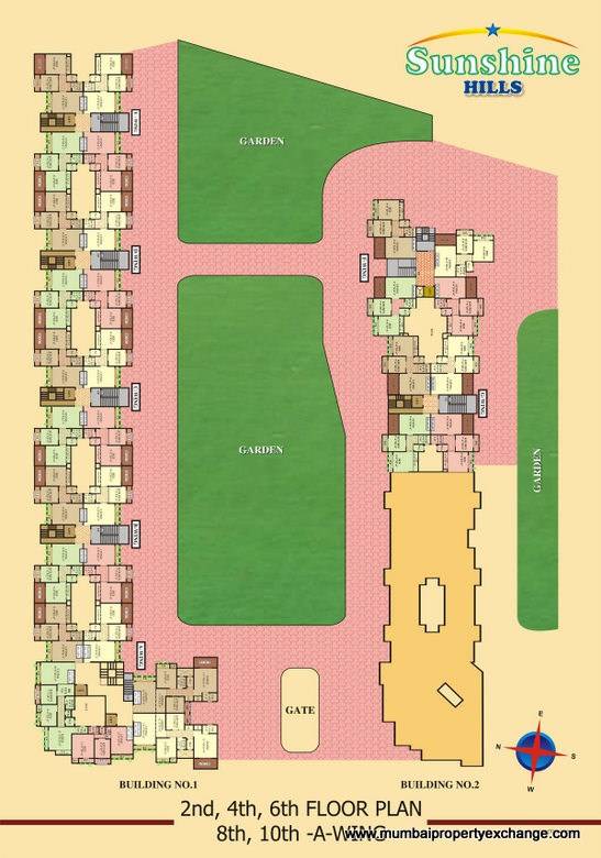 Sunshine Hills Floor Plan