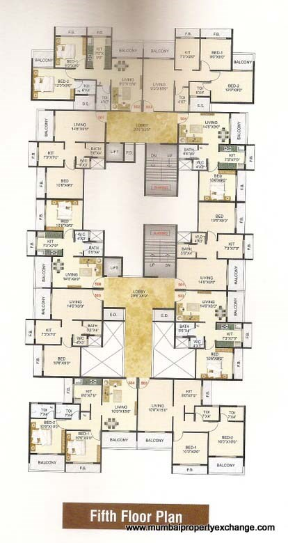Sai Aashish Residency Floor Plan