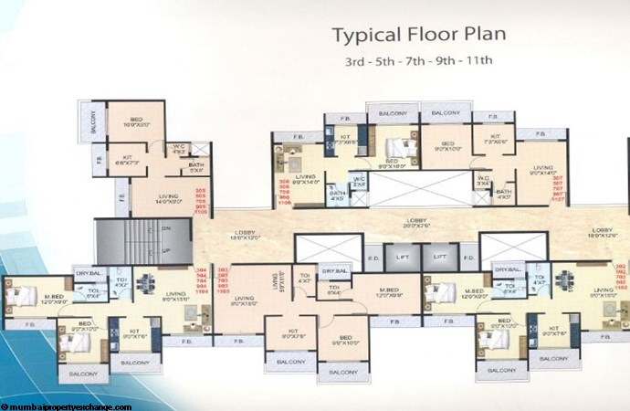 Classic Tower Floor Plan