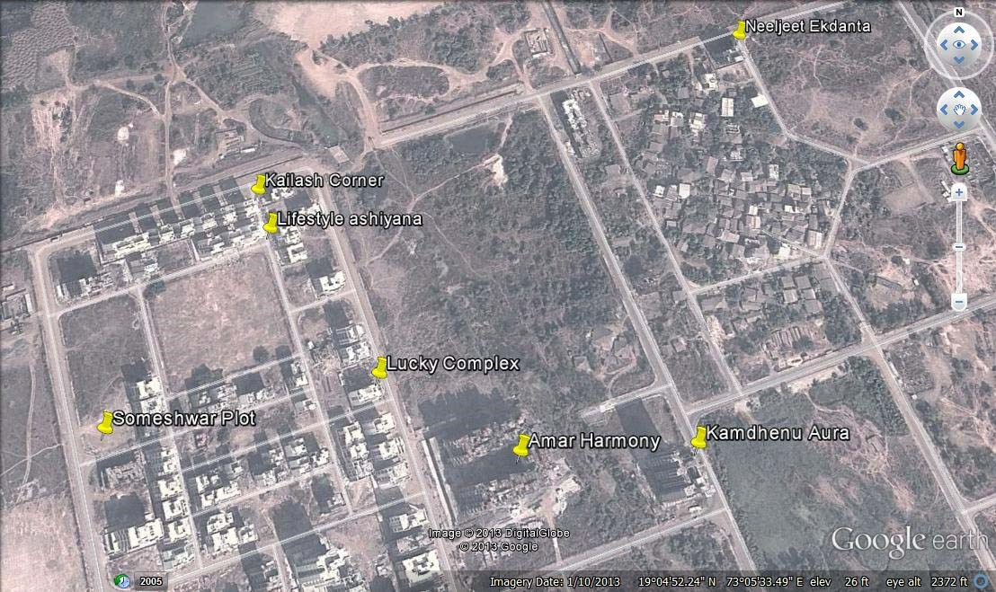 Kamdhenu Aura Google Earth