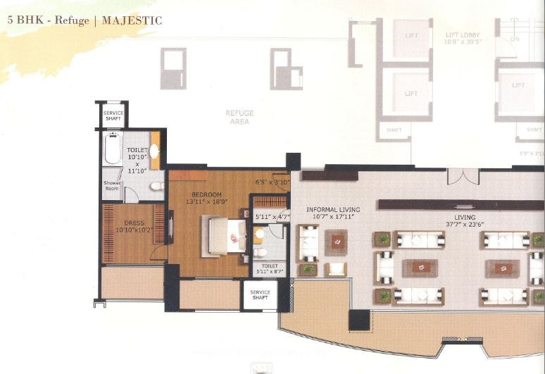 Windsor Grande Residency Floor Plan