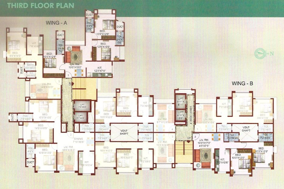 Takshashila Floor Plan