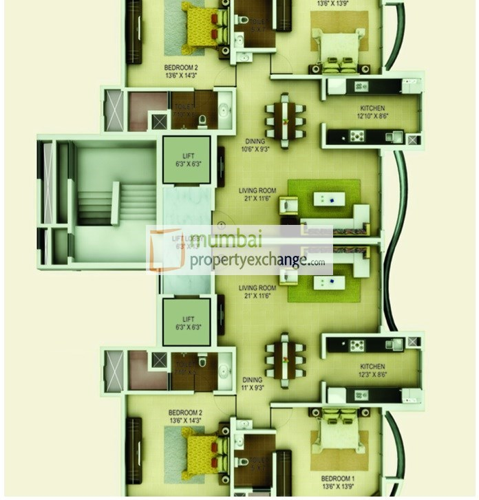 Joy Adinath Tower Floor Plan