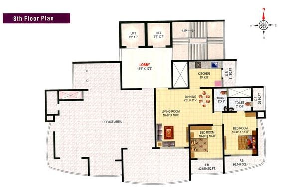 Mrudul Heights Floor Plan
