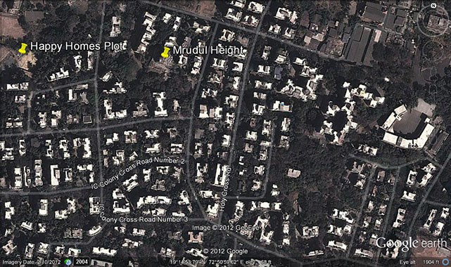 Mrudul Heights Google Earth