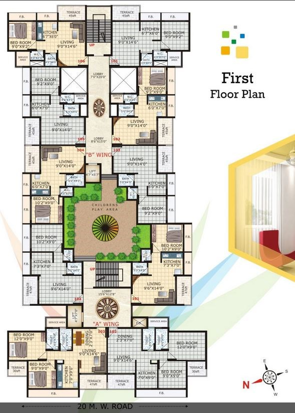 Love Nest Floor Plan