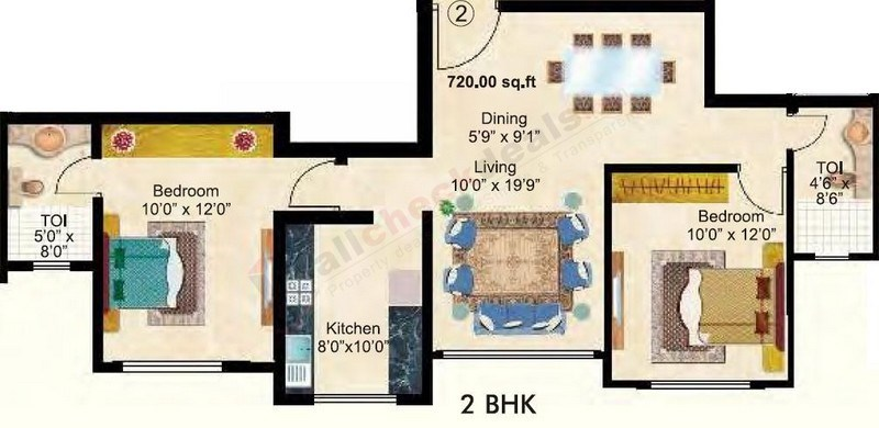Maitri Park floor plan 1