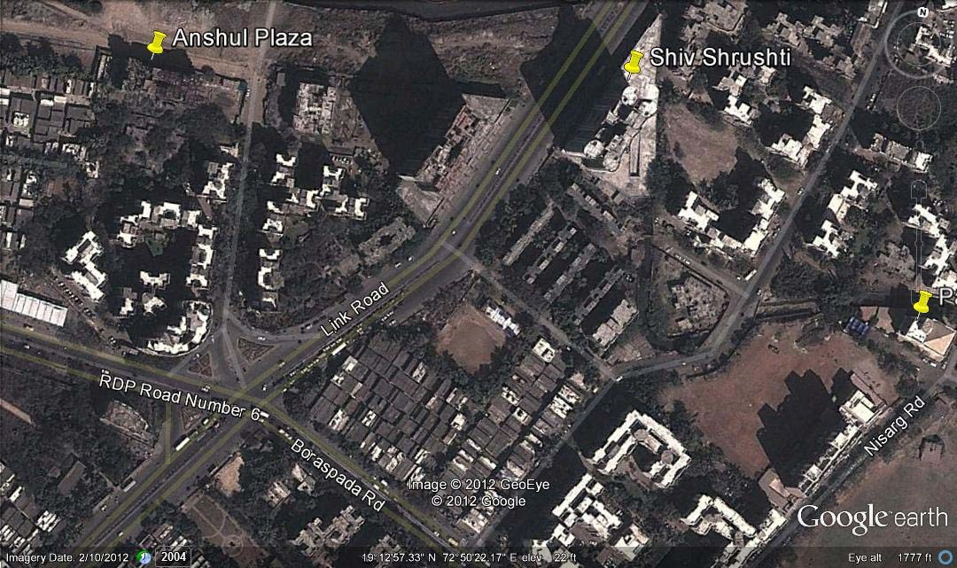 Anshul Plaza Google Earth