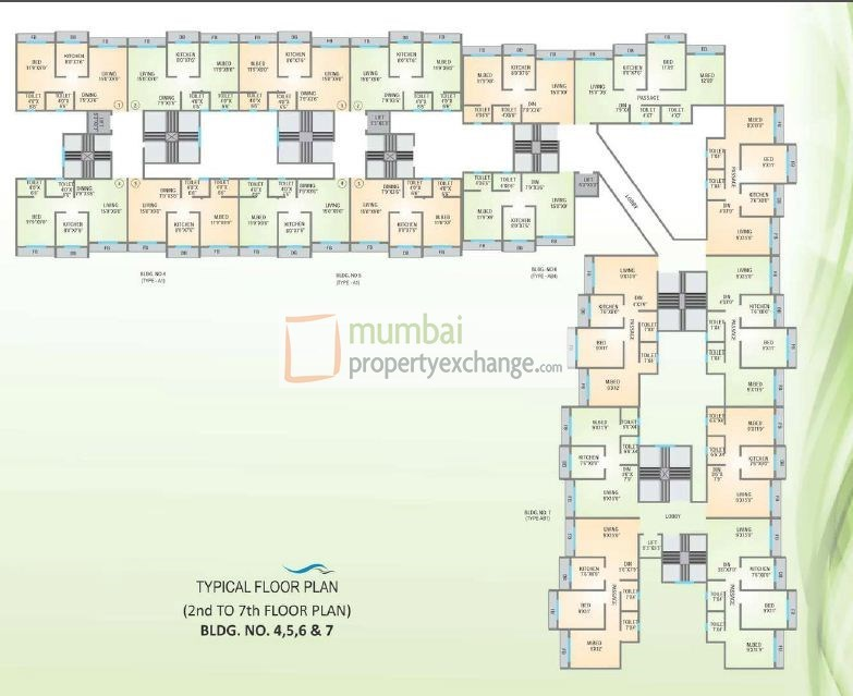 Agarwal Lifestyle Floor Plan