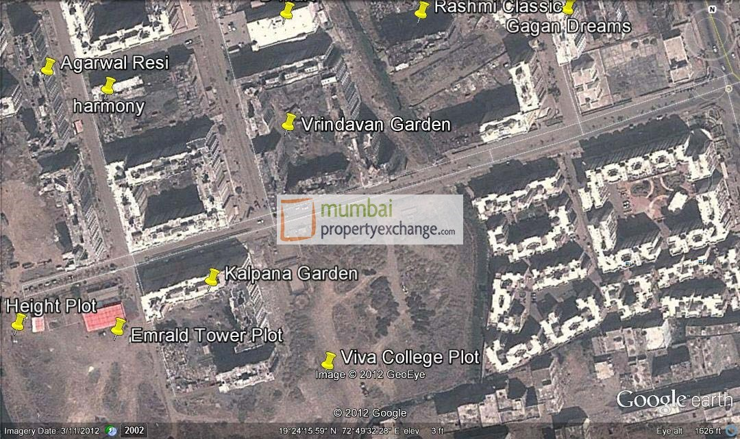 Vrindavan Gardens Google Earth