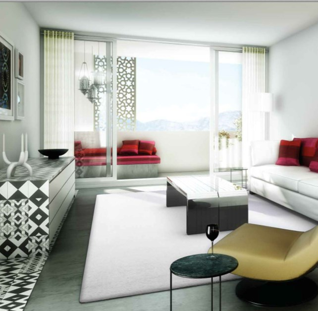 Lodha Fiorenza Milano Living Room View