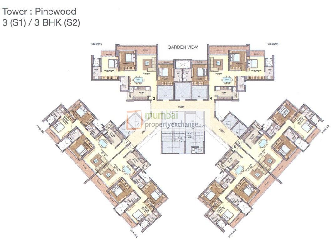 Runwal Greens Pinewood Floor Plan