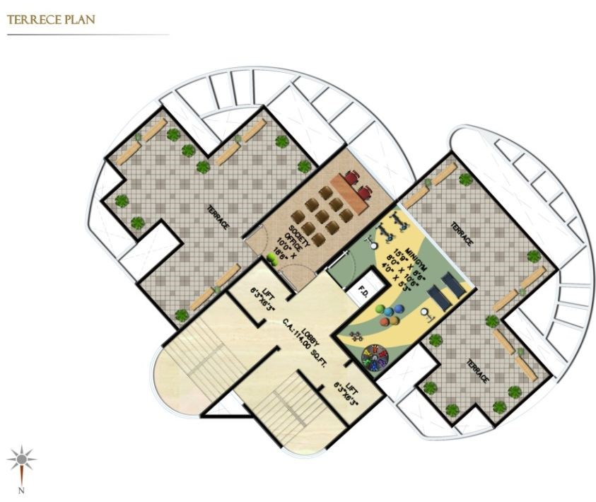 Ventures Residency Floor Plan