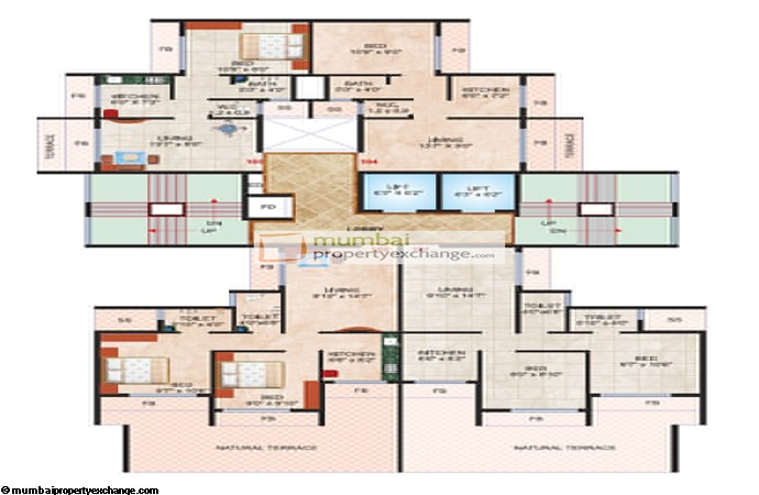 Madhu Sudan Apartment Floor plan