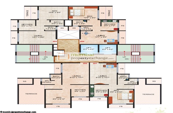 Madhu Sudan Apartment Floor plan 2