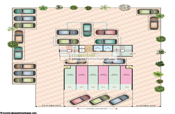 Madhu Sudan Apartment Ground floor Plan