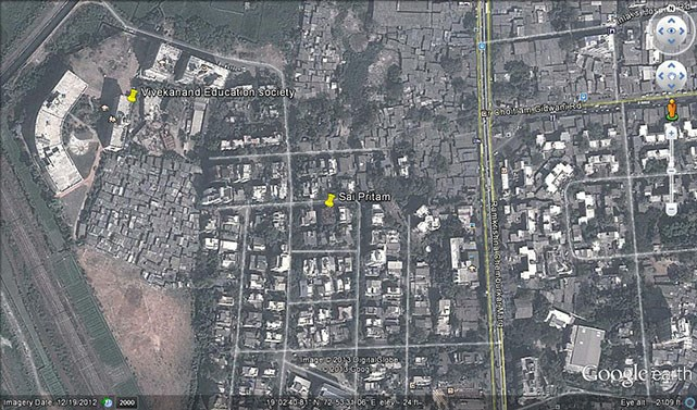 Sai Pritam Google Earth