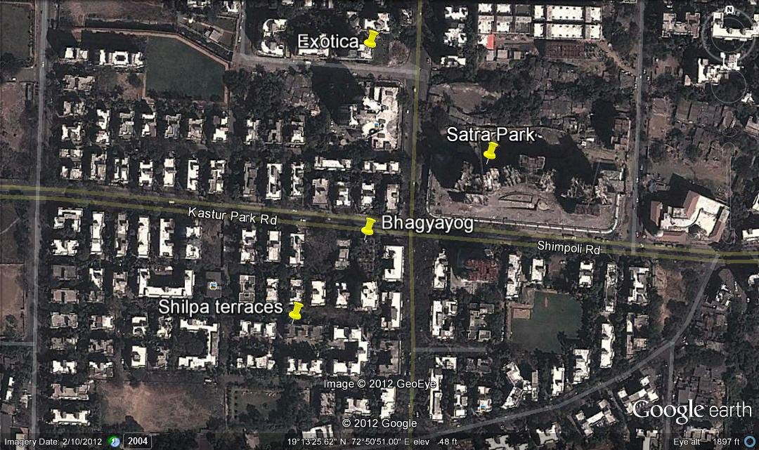 Bhagyayog Google Earth