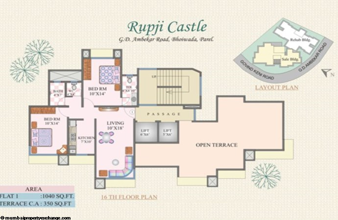 Rupji Castle Floor Plan