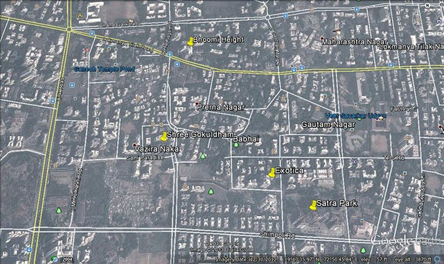 Shree Gokuldham Google Earth