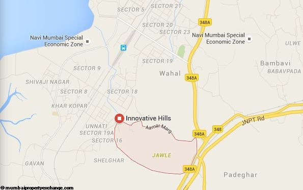 Innovative Hills Location plan