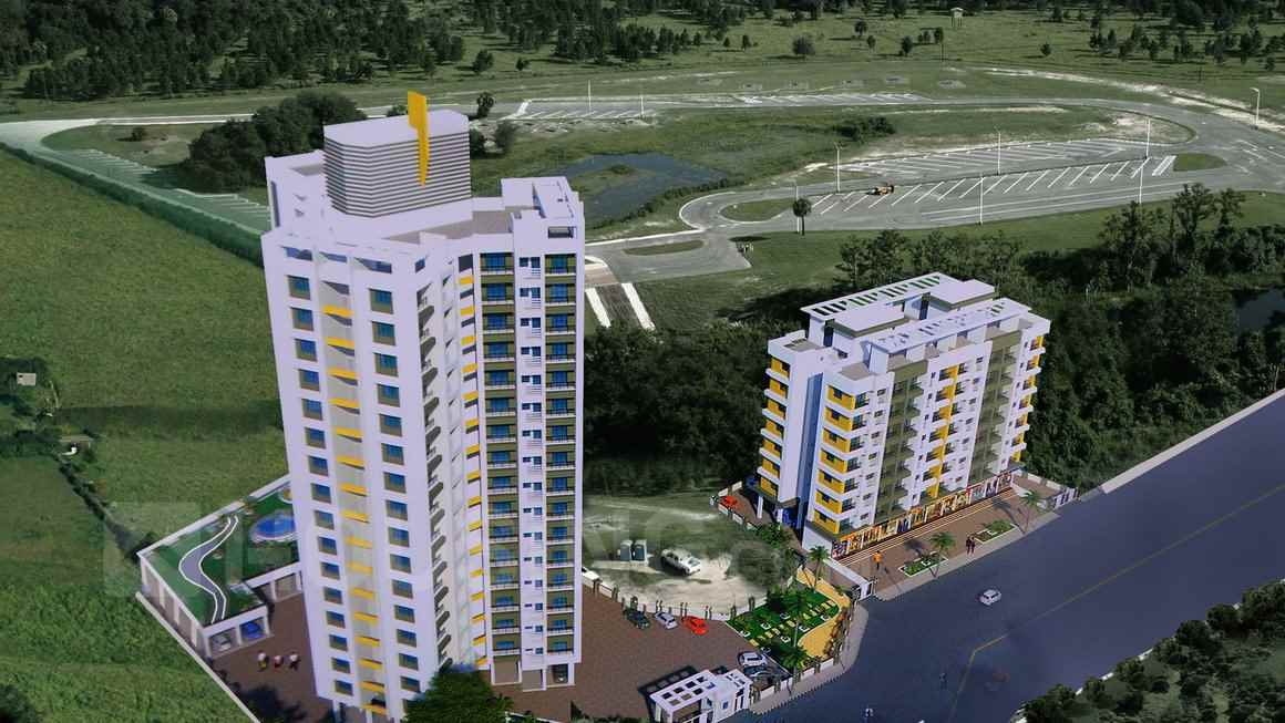 Flat for sale in Cosmos Orchid Florica, Thane West