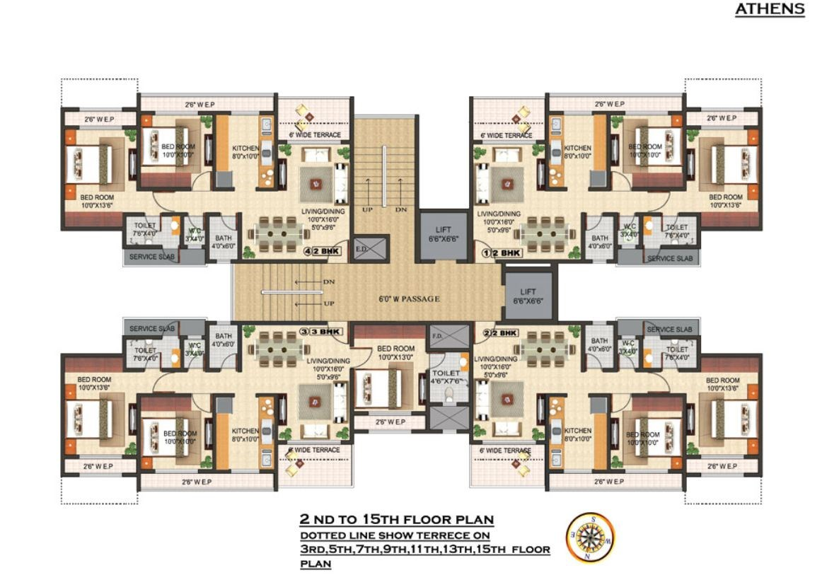 Triveni Laurel Floor Plan