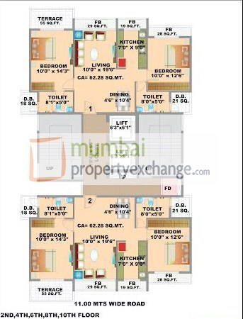 Meridian Meadow Floor Plan