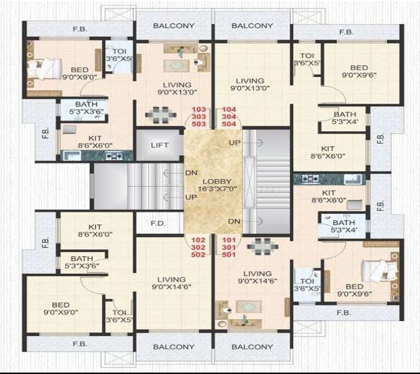 Palm Exotica Floor Plan