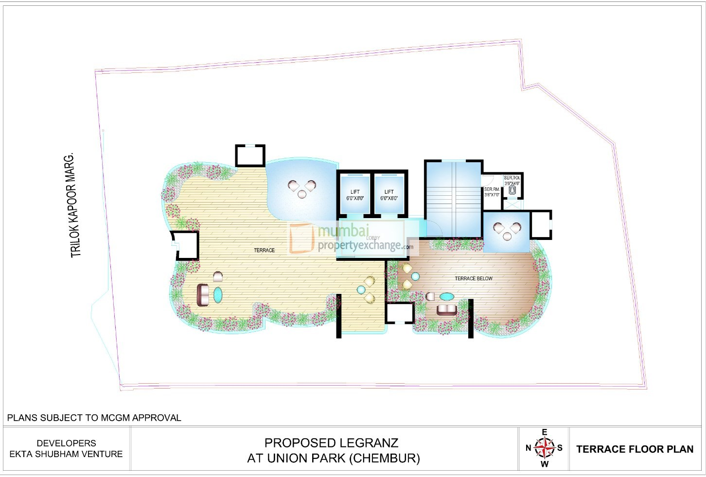 Ekta Legranz Floor Plan