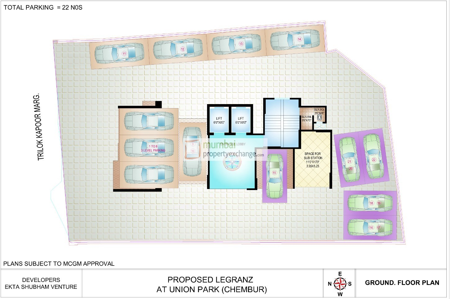 Ekta Legranz Lay Out Plan