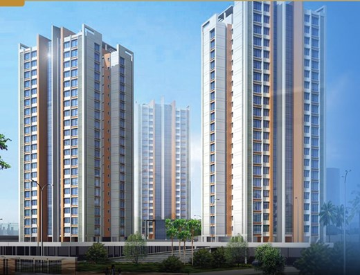 Flat on rent in Runwal Pearl , Thane West