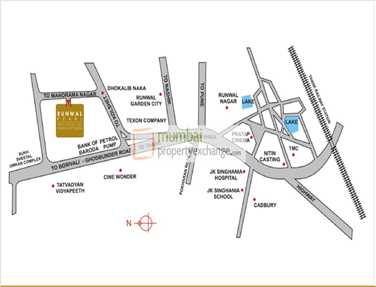 6620 Oth Location Map - Runwal Pearl , Thane West