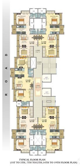 Om Sai Floor Plan