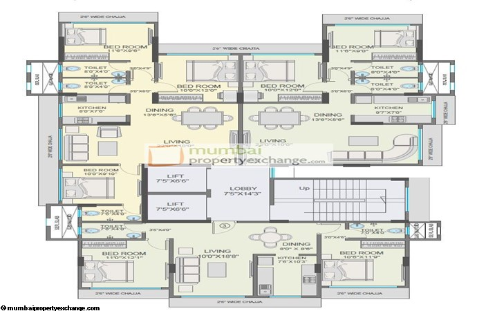 Raj Laxmi Floor Plan
