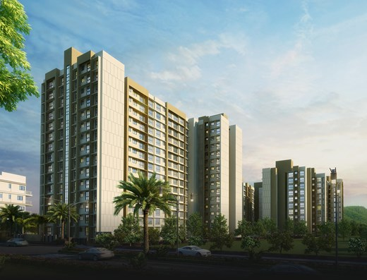 Flat for sale in Sheth Midori, Dahisar East