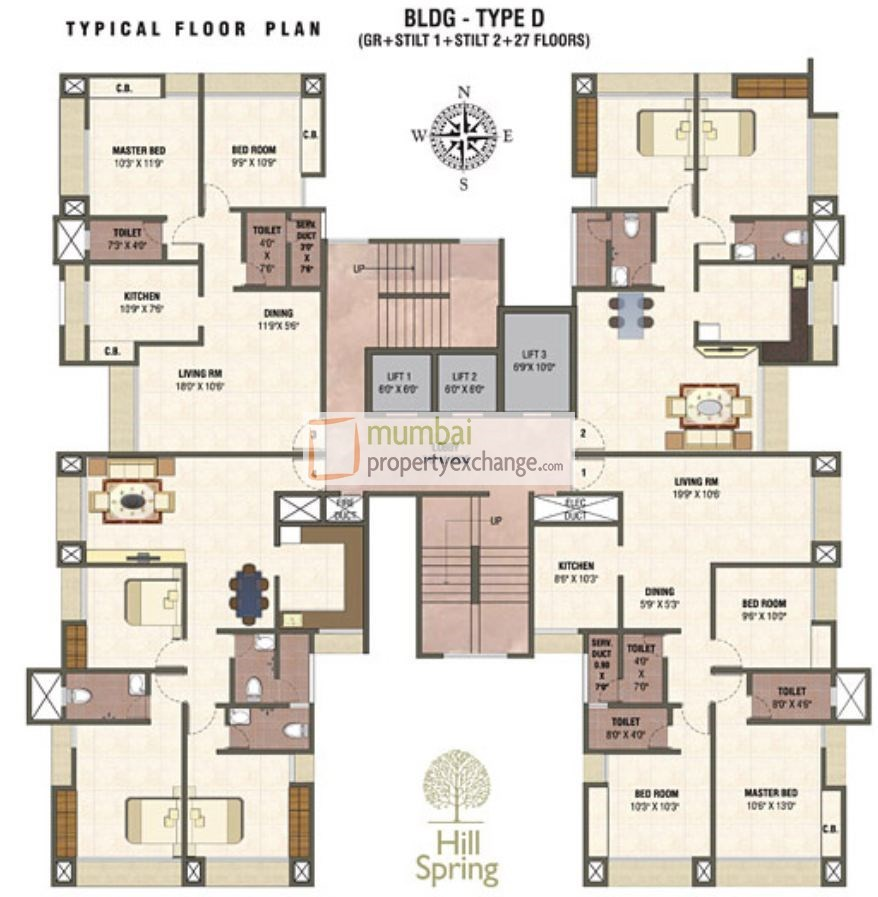 Hill Spring Floor Plan