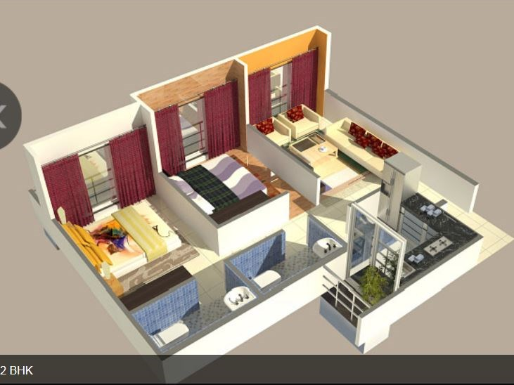 Omkar Royal Residency Floor Plan