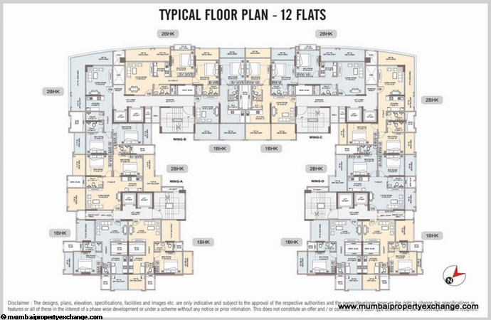 Omkar Vayu floor plan 1