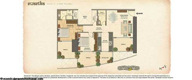 Omkar Veda Floor Plan 2