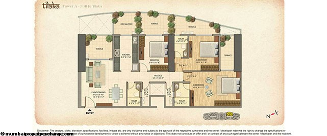 Omkar Veda Floor Plan 4