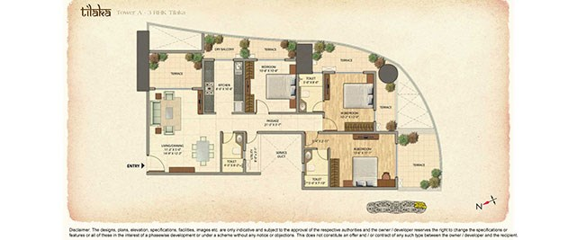 Omkar Veda Floor plan 6
