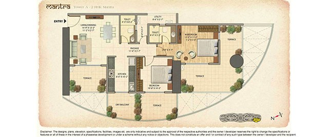 Omkar Veda floor plan 1