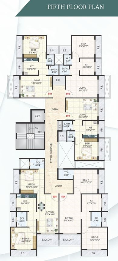 Dev Enclave Floor Plan