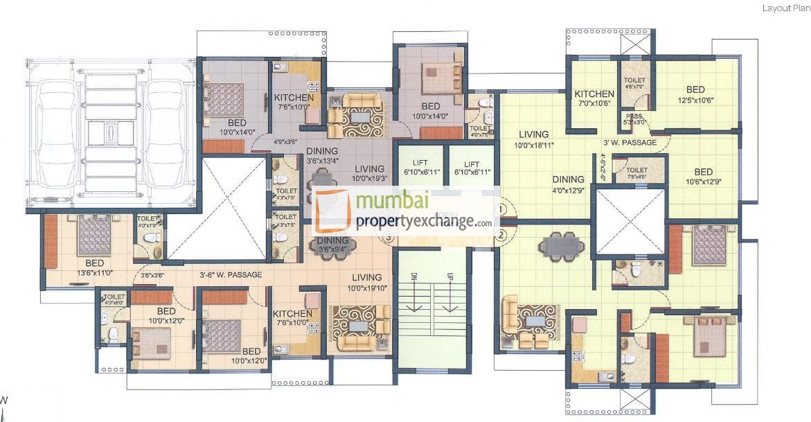 Romell Diva Floor Plan