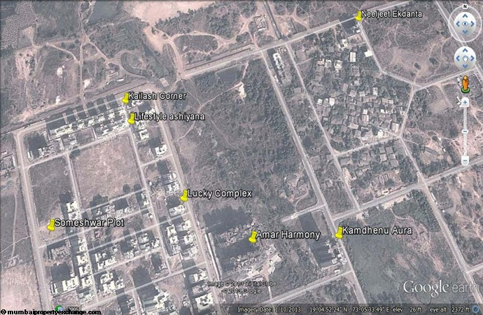 Someshwar Google Earth