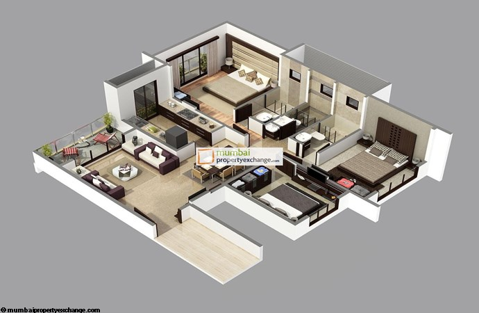 Atlantis ghansoli images floor plans videos mumbai for Atlantis homes floor plans